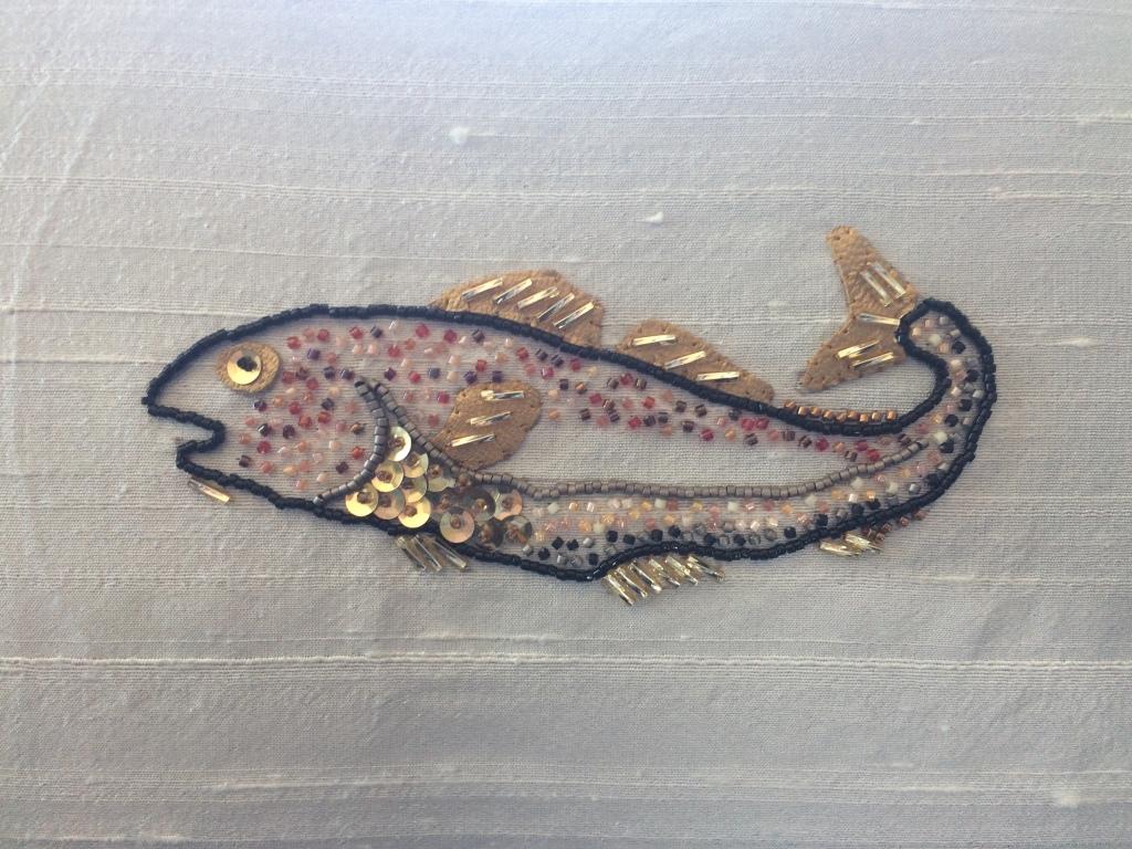 Codfish in Beadwork