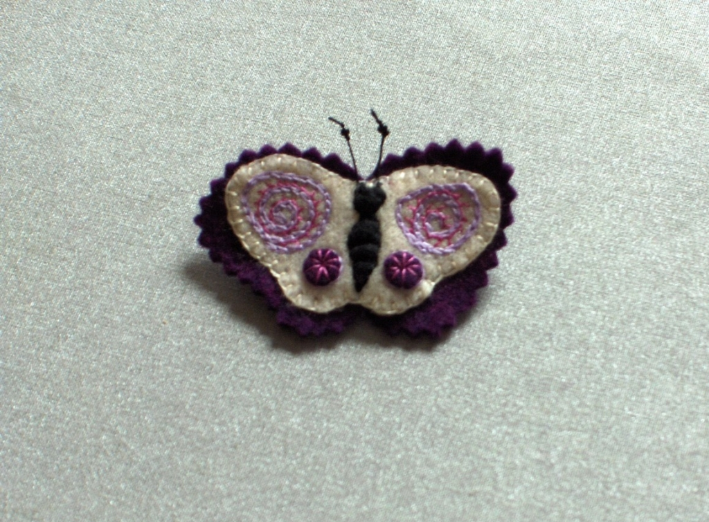 Kathy Day Felted Butterfly