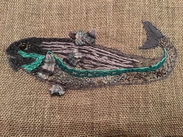Codfish in Picot stitch